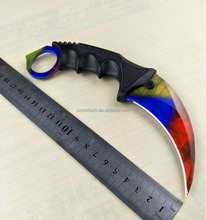 Outdoor CSGO Hunting Knife;Karambit Camping Knife;High Quality Stainless Steel Army Knives