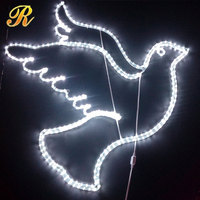 LED decoration light for wedding light dove decoration