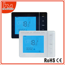 Wall mounted boiler room temperature controller