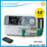 Hot seller CE approved Electric Syringe Infusion Pump with Drop Sensor