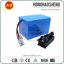 Rechargeable Lithium 40Ah Battery for electric scooter 72v 3000w