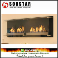 HOT New Design AF-05-120S, Cheap ethanol Fireplace Wall Decor