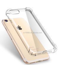 popular phone Case Clear Back Shockproof TPU phone case transparent clear soft case for iphone 6,6plus, iphone 7,7plus