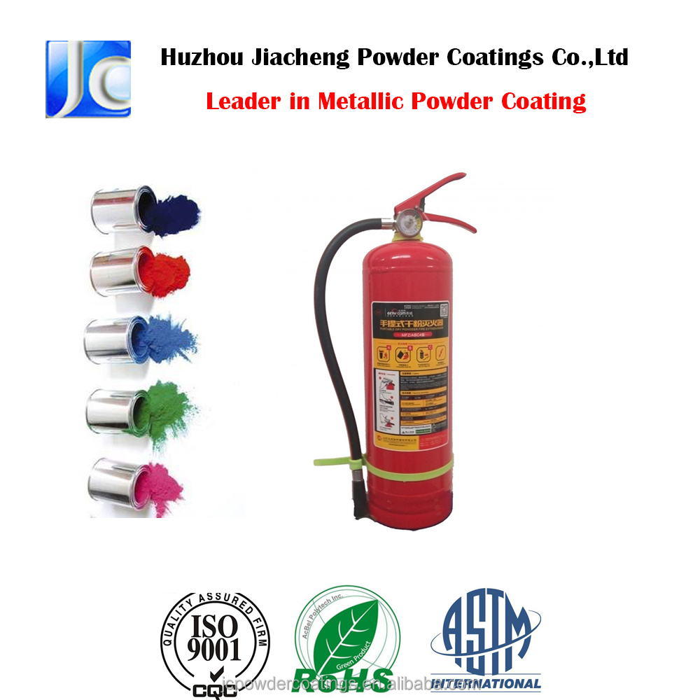 Corrosion Protection Epoxy Polyester Powder Coating for Fire Extinguisher