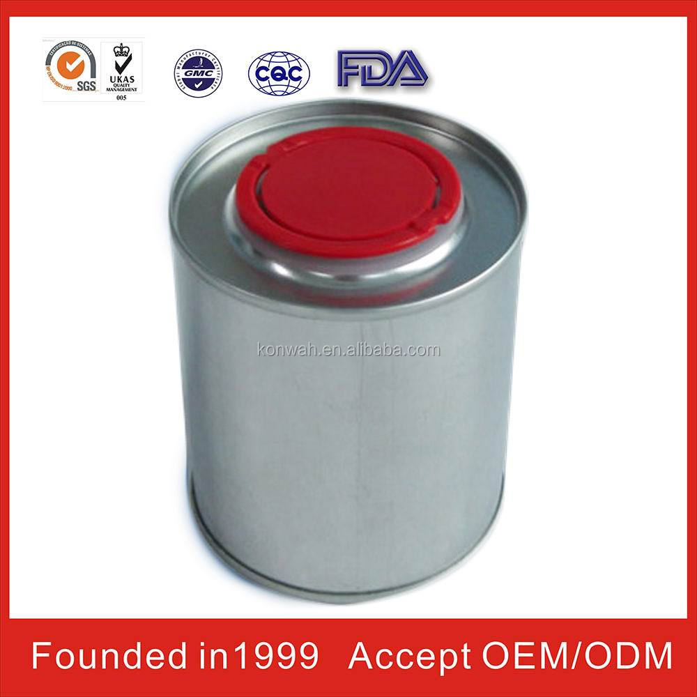 round aluminium tin can scrap with chemical round tin