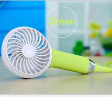Best Hot Selling Portable Handheld Fan Mini Electric Fans Power Bank Handheld Battery Operated Fan with self-timer stick