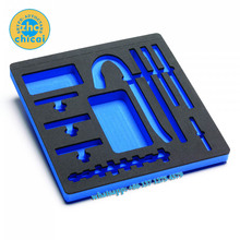 Custom factory price die cut or CNC milled and routed protective packing EVA foam inserts of sponge inlay