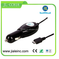 Car Charger to Micro USB B Male for smartphone tablet GPS electronic device