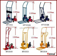 Six wheels hand trolley for Climbing stairs HT7000 Direct sack truck supplier