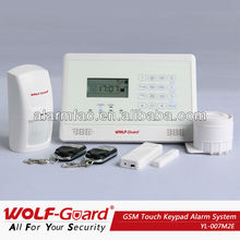 APP and Adroid !anti-intrusion gsm wireless home security sensor alarm system with pir sensor