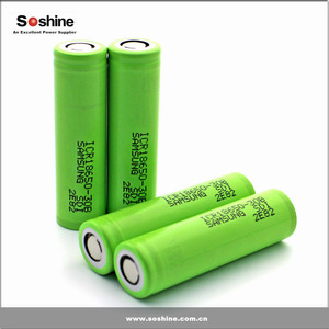 Original Samsung icr18650-30b 18650 3000mah 3.7v li-ion rechargeable battery samsung sdi 18650 battery