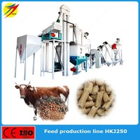Animal feed production line with specail formula for cattle