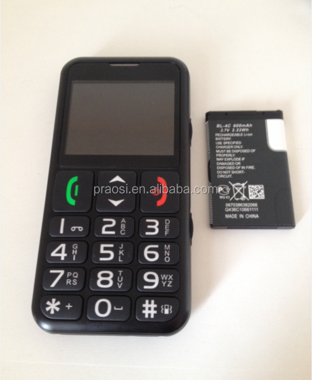 feature 3g cell phone handphone old man