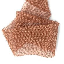 Good Quality Multi-Strand Red Copper Knitted Gas-liquid Separator Mesh Filter