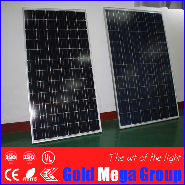 High efficiency solar cell panel 300W, Mono solar panel
