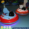 2017 new fashion indoor outdoor rechargeable battery electric inflatable round kiddie bumper car