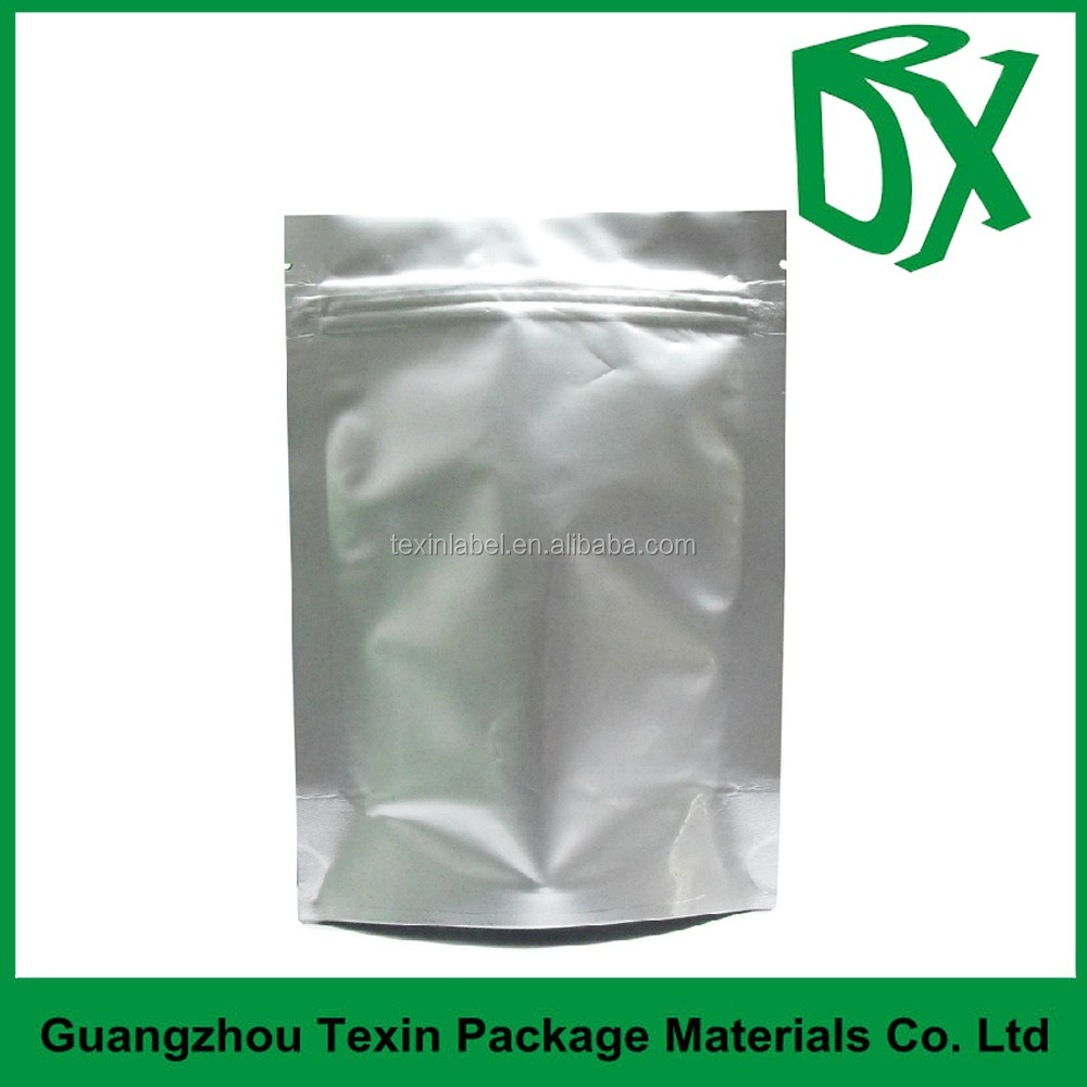 coffee bag /al foil standing zipper bag with valve wholesale packaging bag manufacturer china