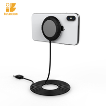 2019 <strong>10</strong> <strong>W</strong> portable fast mobile phone wireless charger with suction cup
