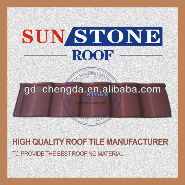 chestnut chips small clay roof tiles