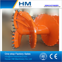 Flat Double Head Double Cut Spiral Rock Auger for Bored drilling