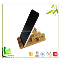 Eco-friendly Bamboo Mobile Cell Phone Stand Holder