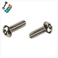 Made In Taiwan Special Screws Snake Eye Security Tamper Proof Screw Button Head Truss Head CSK Undercut Head Tamper Proof Screw