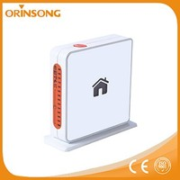 high sensitive alarm home security system wireless