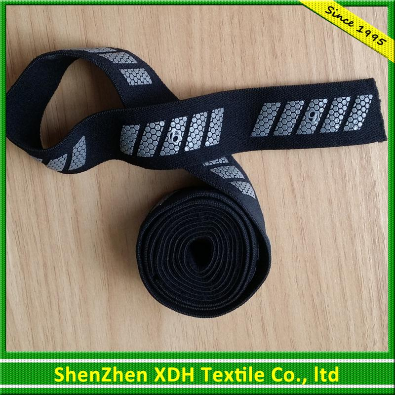 Fashion woven elastic band jacquard elastics with low price