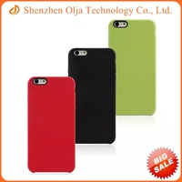 Original official silicone phone case for apple iPhone 6 plus