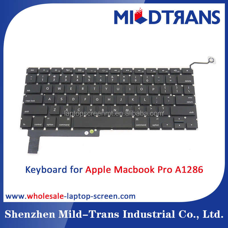 high quality sp keyboard for Apple Macbook Pro A1286