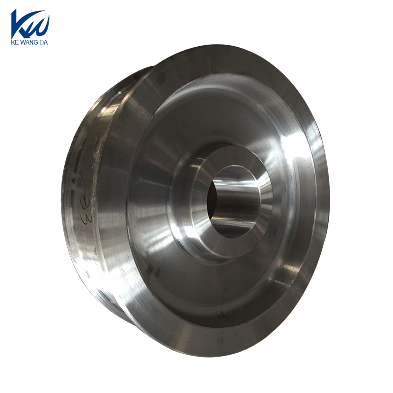 Heavy Duty railway forged wheel blank for sale