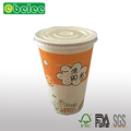 Paper tea cup fruit juice paper cup insulated coffee cup for cold and hot beverage