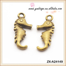 Style restoring ancient ways alloy The hippocampus fashion Charm