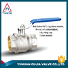 High quality nickel plated directional-control ball valve on YU HUAN OU JIA