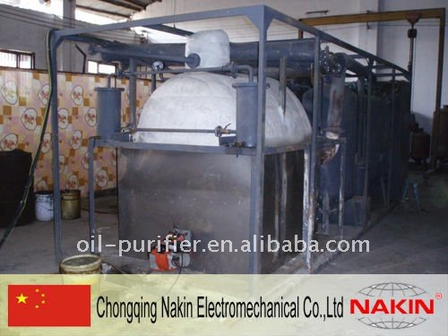Used engine and motor oil recycling machine oil for Used motor oil recycling equipment