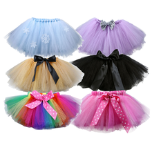 Colorful Rainbow Wholesale Childrens Baby Tutus Girl Skirts for Kids
