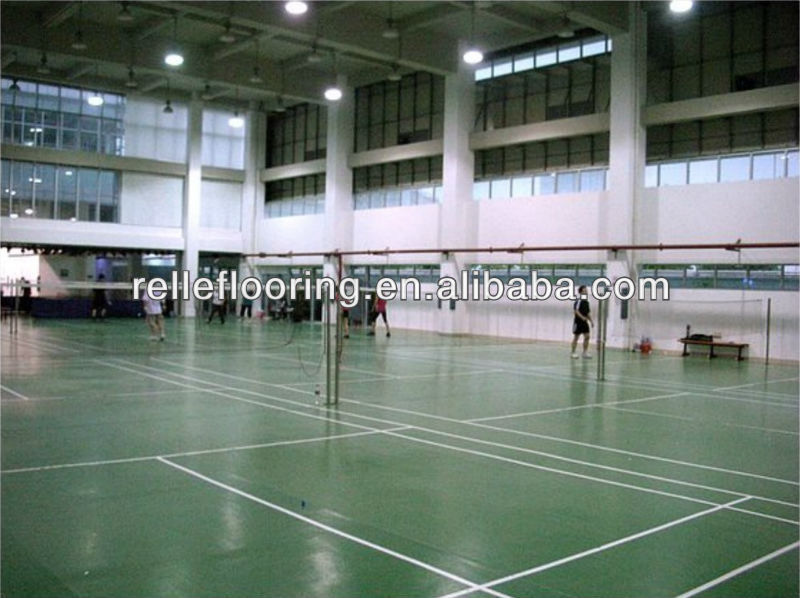 indoor pvc sports flooring for badminton