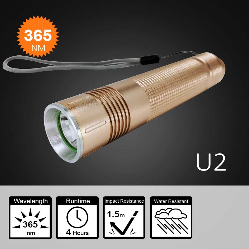 Underground Gemstone and Money Detectors UV Tester Flashlight