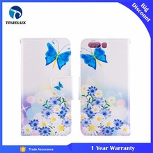 Good Quality Mobile Phone Case for Huawei P10 Lite Knife Buckle Painting Card Bracket Leather Case