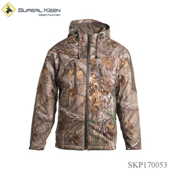 Outdoor Sport Windproof Waterproof Insulated Hunting Jacket