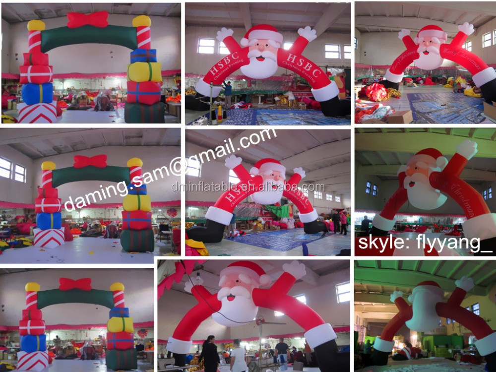 Shopping Mall Glass Christmas Decoration/snowman, Christmas stockings,Santa candy crutch, Santa Claus, MK-33