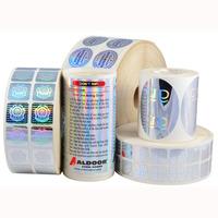 Anti-counterfeit brand laser 3d hologram secutity sticker