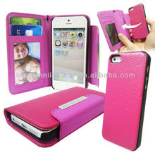 Cell phone cover case for iphone 5S 5C,luxury iphone5S for leather case