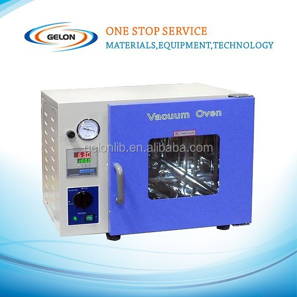 small lab vacuum drier machine/vacuum dry oven for lithium battery manufacture
