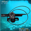 DIV10 Rechargeable Multifunction Scuba Diving Waterproof Torch Light