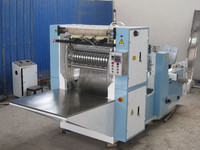 Fully Automatic Cutting Counting Embossing Paper Folding Napkin Tissue Converting Machine