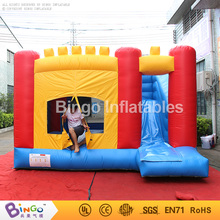2017 Cheap inflatable jumping castle, jumping castles games, jumping castle with slide