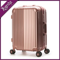 ABS and PC aluminum alloy wheel luggage case