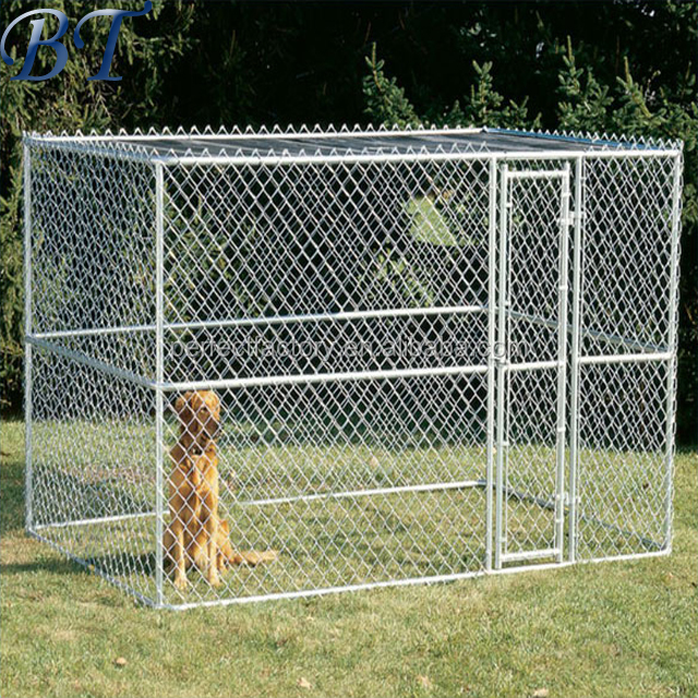 Alibaba china cheap chain link dog kennels wholesale with competitive price and high quality