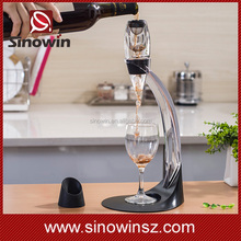 Wholesale Bulk Cheap Wine Aerate Decanter with Stand Wine Aerator Gift Set